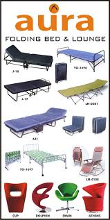 Folding Cot Online Shopping India Buy Folding Beds And Lounge Chairs From Aura Global Furniture