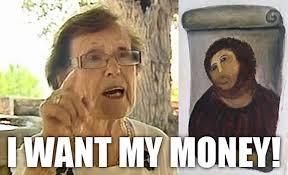 Potato Jesus Meme - list of synonyms and antonyms of the word jesus painting meme