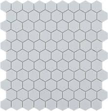 light grey hexagon tile small grey white or black hexagon mosaic tiles