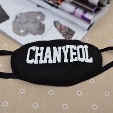 Masker Exo kpop exo xoxo support mask chanyeol home kitchen