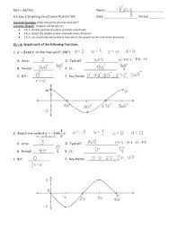 sine and cosine graphs worksheet free worksheets library