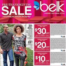 we ve got the belk pre thanksgiving ad blackfriday