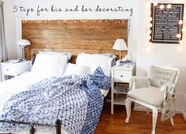 His And Hers Bedroom by 5 Tips For His And Her Decorating Songbird