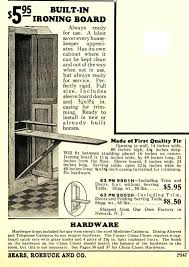 ironing board cabinet hardware restoring a built in ironing board root simple
