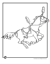 circus horse coloring page woo jr kids activities