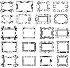 Decorative Vintage Frames 25