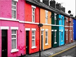 Colorful Beach Houses english town blackpool colorful homes from around the world