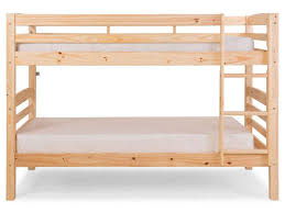lit superposé chambre lits superposés 90 x 200 cm harry 5 coloris naturel vente de lit