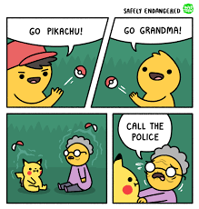 pokemon meme battle grandma on bingememe