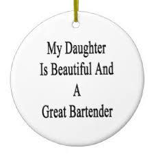 the bartender ornaments keepsake ornaments zazzle