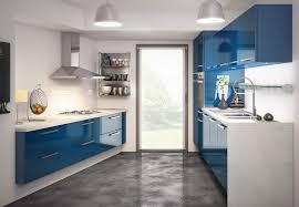 meuble cuisine bleu cuisine bleu gris cool formidable couleur peinture salon salle a