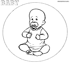baby coloring pages coloring pages to download and print