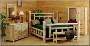 Cedar Log Bedroom Furniture by Cowboy Furniture