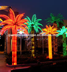 light up palm tree outdoor outdoor designs