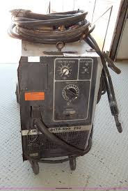 hobart beta mig 250 wirefeeder welder item aa9688 sold
