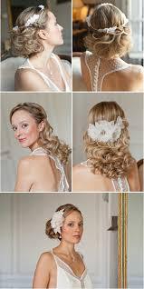 coiffure mariage boheme chignon coiffure mariée rétro bohème chic robe
