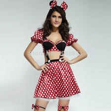 Minnie Mouse Halloween Costume Adults Aliexpress Image
