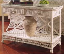 Rattan Console Table Kiawah Rattan And Wicker Model 9600 Furniture From Classic Rattan