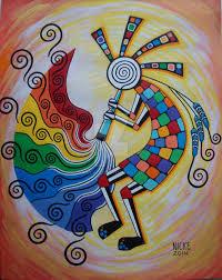 Kokopelli Home Decor by The Rainbow Kokopelli Is A Navajo Yei Deity Who Brings Beauty To