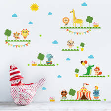 Bedroom Jungle Wall Stickers Online Get Cheap Jungle Bedroom Decor Aliexpress Com Alibaba Group