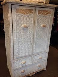 armoire cool wicker armoire design white wicker armoire for sale