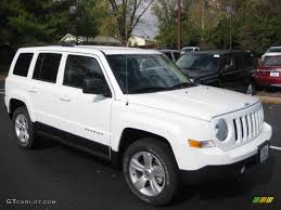 lifted jeep patriot bright white 2013 jeep patriot sport 4x4 exterior photo 72772102