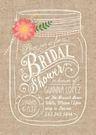 jar invitations walmart stationery shop bridal shower invitations