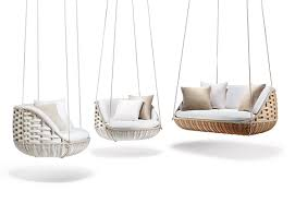 Room By Room Furniture World U0027s First Floating Outdoor Living Room By Dedon Swingme And