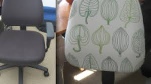 forty two roads hacking ikea reupholster an office chair for a designer workspace
