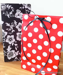 minnie mouse christmas wrapping paper diy gift bags from wrapping paper just one trying