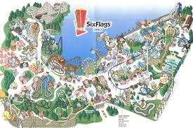6 Flags St Louis Map St Louis Six Flags Map