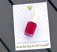 asking to be a bridesmaid ideas 5 ways to ask someone to be your bridesmaid put a ring on it