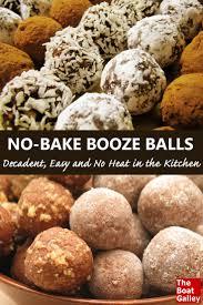 no bake booze balls oven sweet cookies and christmas baking
