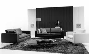 Black White Checkered Rug Living Room Design With Black And White Paint Color Interior