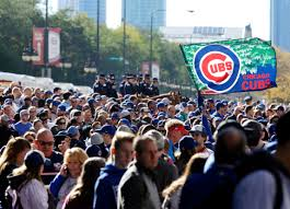 Cubs Flag Chicago Cubs U0027 World Series Championship Parade In Photos