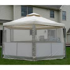 Replacement Canopy by Kmart Martha Stewart Garden Melrose Replacement Gazebo Canopy And
