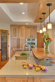 curved ceiling lighting kitchen contemporary with pendant lighting