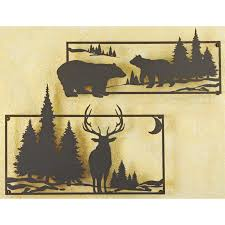 Home Decoration Accessories Wall Art Wildlife Metal Wall Art 180990 Decorative Accessories At