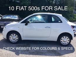 fiat 500 hatchback used fiat 500 cars for sale in crewe cheshire motors co uk