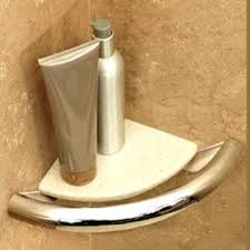 invisia grab bars corner shelf liveoakmed com