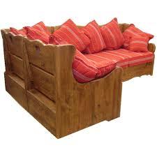 canapé style chalet canape d angle tissu aiguebelle alaska les meubles du chalet
