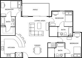 floor palns 3 bed 3 bath penthouse waitlist more details print floor