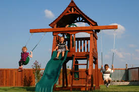 swing sets backyard adventures redwood u0026 wooden swing sets la