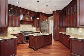 cherry kitchen cabinets what color to paint walls medium size of