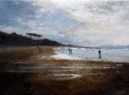peinture laqu馥 cuisine marina de la playa de loredo cantabria arte de la pintura