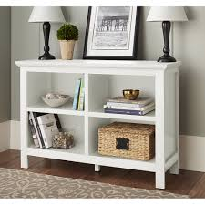 French Country Bookshelf Mainstays 5 Shelf Wood Bookcase Multiple Colors Walmart Com