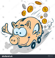 box car clipart funny moneybox ecocar stock vector 71099062 shutterstock