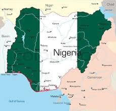map of nigeria africa nigeria steemit