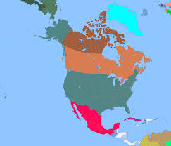 Blank Map North America by A Blank Map Thread Page 216 Alternate History Discussion