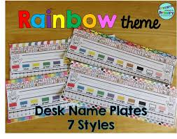 Desk Name Tags by 22 Best Name Plates Images On Pinterest Classroom Organization